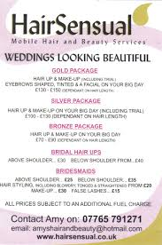 bridal hair prices wedding hair andup prices rate bridal for corners