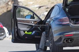 porsche panamera interior 2017 2017 porsche panamera interior partially revealed in latest