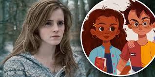 harry potter hermione harry potter artist draws hermione as black and faces horrific