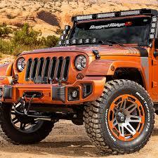jeep orange rugged ridge 11231 28 elite fog light guard 07 17 jeep wrangler
