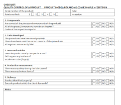 checklists what is a checklist and how to use it pdca home en