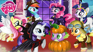 my little pony halloween party dress up game for girls youtube