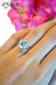 3 carat ring 3 ct diamond engagement ring pinster