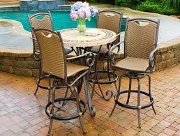 patio marvellous high top patio sets bar height patio set with