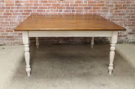 Pine Table Classic Square Farm Table Ecustomfinishes