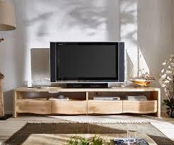 lowboard live edge 230 cm akazie gebleicht 4 schübe möbel tische