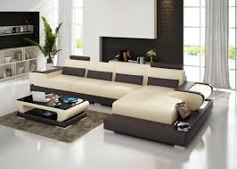 Modular Living Room Furniture Modular Design L Shape Living Room Furniture Geniue Leather Sofa
