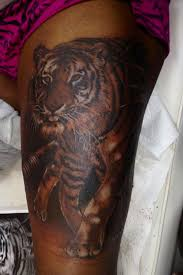 ny ideas thigh tattoos tattoos galore tiger thigh tiger