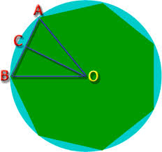 Picture Of Octagon Perimeter Of An Octagon Inside A Circle Math Central