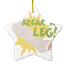 broken leg ornaments keepsake ornaments zazzle