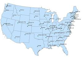 map of usa states and capitals and major cities map usa major cities major tourist attractions maps