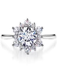 snowflake engagement ring 30 engagement rings