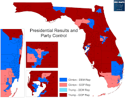 House District Map Presidential Results By Florida State House District U2013 Mci Maps