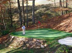 Backyard Putting Green Installation by Synthetic Putting Green Installation Arrière Cour Pinterest