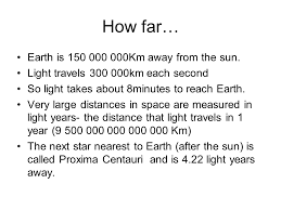 how long does it take to travel a light year images Exploring our solar system part 2 presentation astronomy PNG