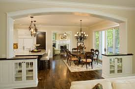 combined kitchen and dining room dining room traditional dining room kitchen and ideas small