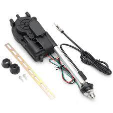 auto car power electric aerial automatic antenna mast am fm radio
