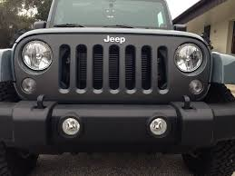 jeep grill wallpaper jk front grill 2007 17 with logo cut out raw carbon fiber 1