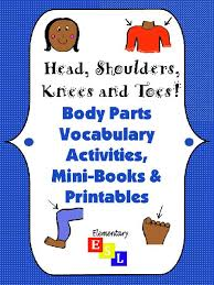 worksheet pack parts of the body vocabulary printables for esl