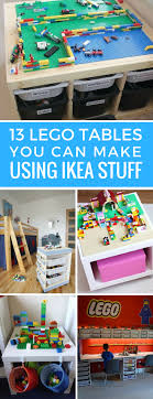 ikea lego table hack 13 awesome ikea lego tables that your kids will go crazy over