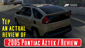 pontiac aztek 2005 pontiac aztek first drive review youtube