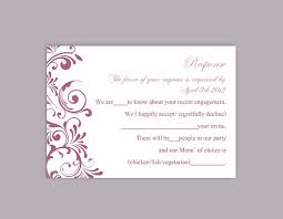 rsvp cards for wedding diy wedding rsvp template editable text word file rsvp
