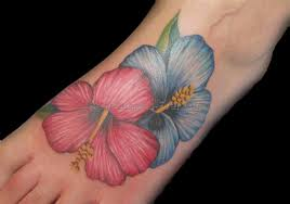 hawaiian flowers tattoos 2 best tattoos ever