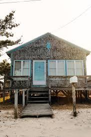 beach shack on east matunuck beach rhode island new england