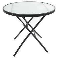 target folding patio table glass folding patio bistro table clear threshold target