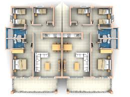 Modern Apartment Plans by 3 Bedroom Apartments Plans Modern 4 Capitangeneral