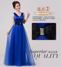 junior bridesmaid dress 2017 new tulle a line 6 style royal blue