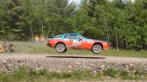 porsche rally car pca members competed in porsche 944s at pennsylvania rally w