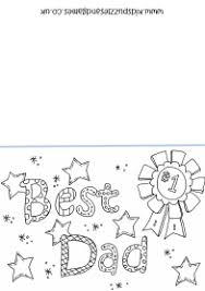 father u0027s coloring card summer holidays