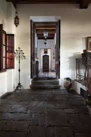 Antique Home Interior Spanish Mediterranean Hacienda Style In Santa Barbara Ca