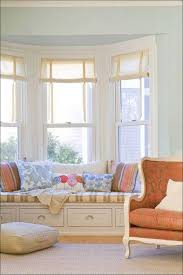 Curtains On Bay Window Kitchen Bay Windows Living Room About Window On Pinterest