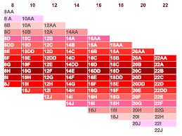 Duvet Size Chart Bra Sister Size