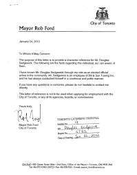 Character Reference Letter For Court Speeding ford wrote letter to help reinstate stunt driving tow truck driver