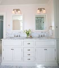 Traditional Vanity Lights Traditional Master Bathroom With High Ceiling U0026 Undermount Sink In