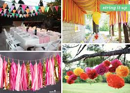 outdoor party decorations outdoor party ideas summer themes modern world home interior dma