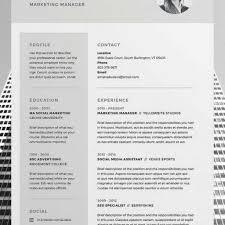 layout cv best 25 cv template ideas on layout cv creative cv