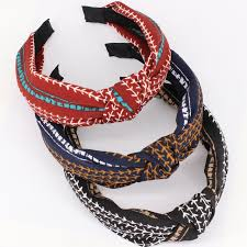hair accessories wholesale korean tiny narrow cloth center knotted hairband women fashion