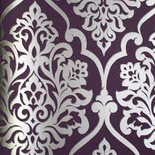 Purple Damask Wallpaper by Download Damask Wallpapers 10 Of The Best Gallery
