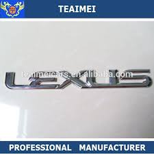 list manufacturers of chrome letters for cars buy chrome letters