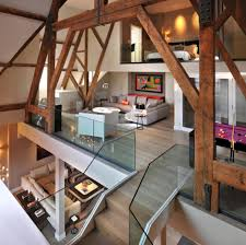 bursting with personality charming st pancras penthouse in