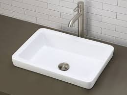 small rectangular vessel sink rectangular vessel sinks contemporary white semi recessed ceramic