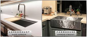 how to install an apron sink in an existing cabinet installing a kitchen sink havens luxury metals