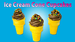 cupcakes in an ice cream cone how to make a cupcake ice cream