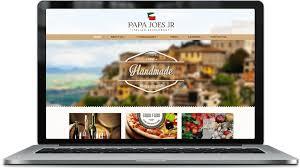 professional italian restaurant web design services