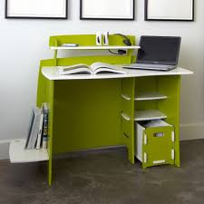 Desk With Computer Storage Kids Room Children Desk Ideas With Green Solid Wood Desk With
