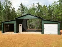 Pioneer Pole Barns Metal Carports Custom Garage Buildings Rv Carport Metal Barns